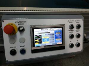 panel sterowania maszyny do druku na torbach - ms pik 700